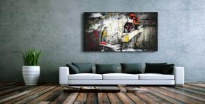 Canvas Glossy Polyester