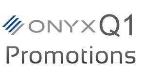 ONYX Q1 promotion