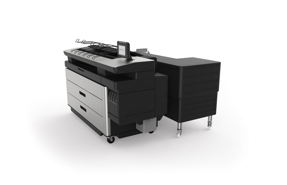 HP-PageWide-XL-4100-with-HP-F40-folder