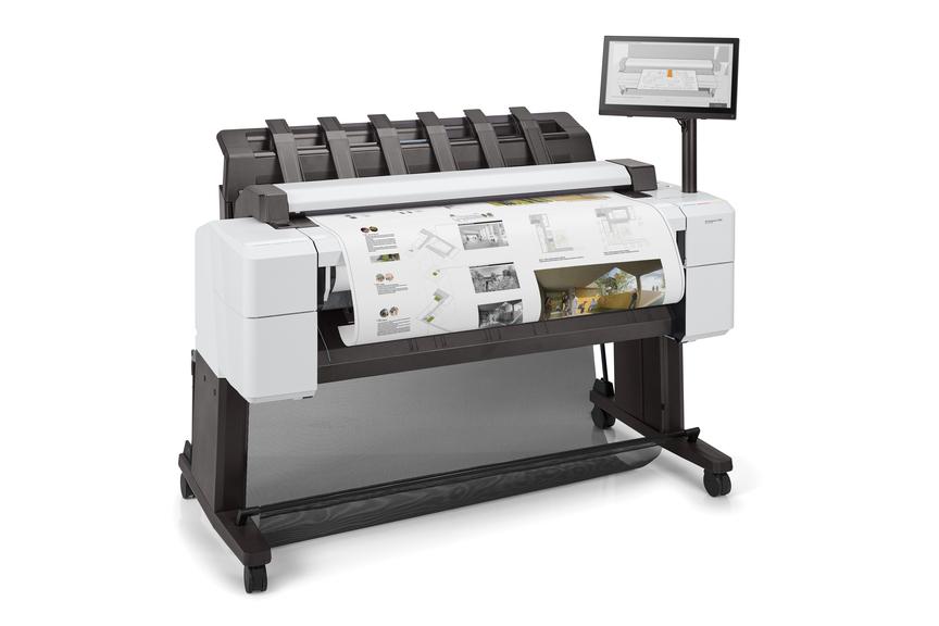 HP DesignJet 2600 MFP-right